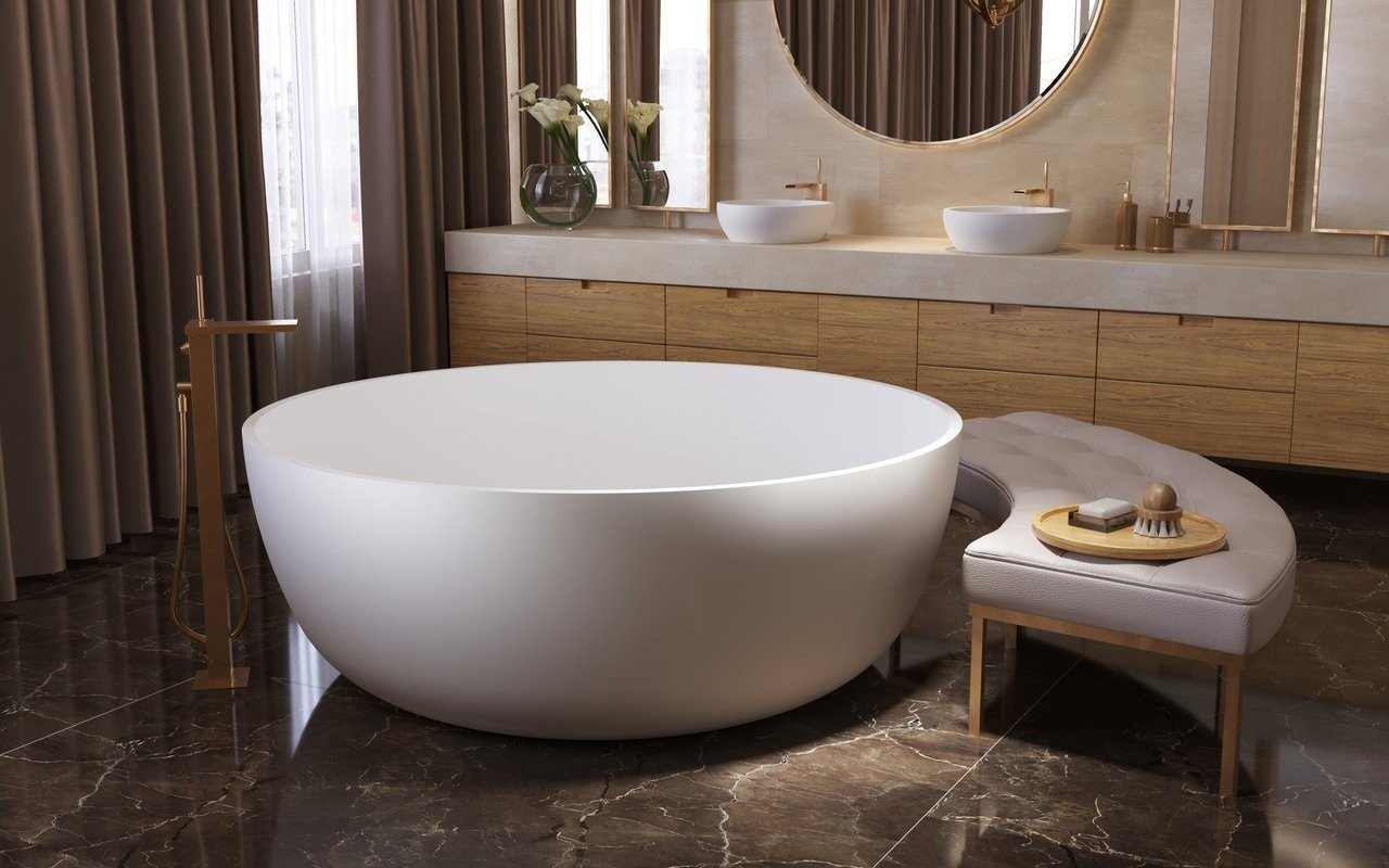 Aquatica Adelina Round Freestanding Solid Surface Bathtub 02 (web)
