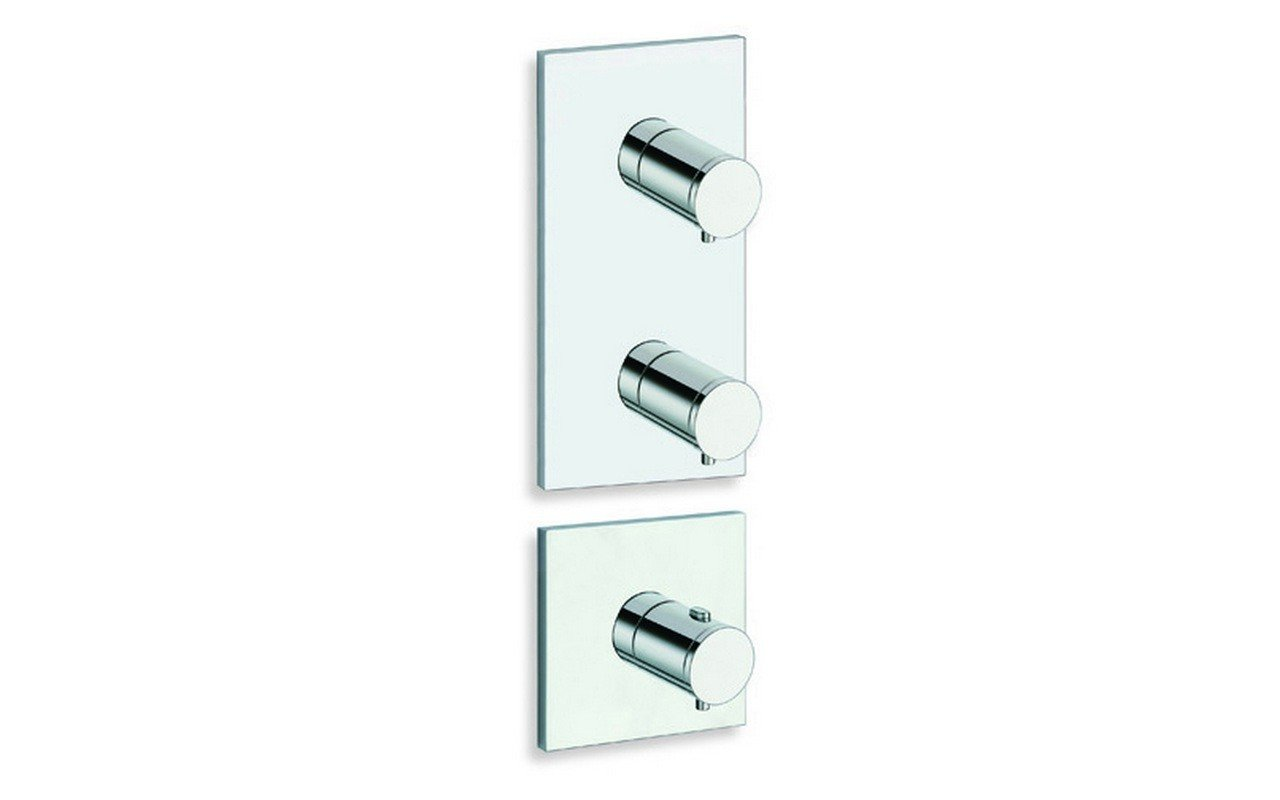 Aquatica RD 782 High Throughput Thermostatic Valve with 2 independent volume control valves web