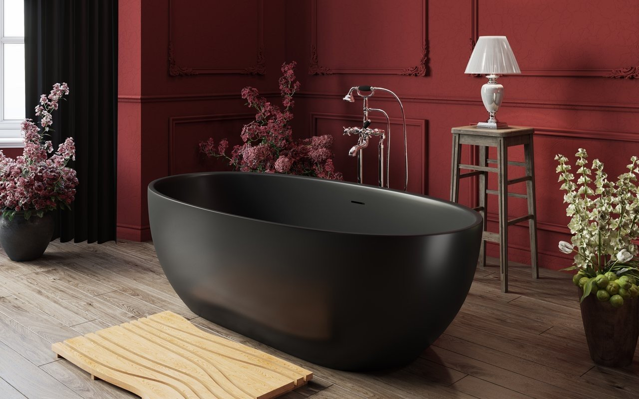 Aquatica Corelia Black Freestanding Solid Surface Bathtub 02 (web)