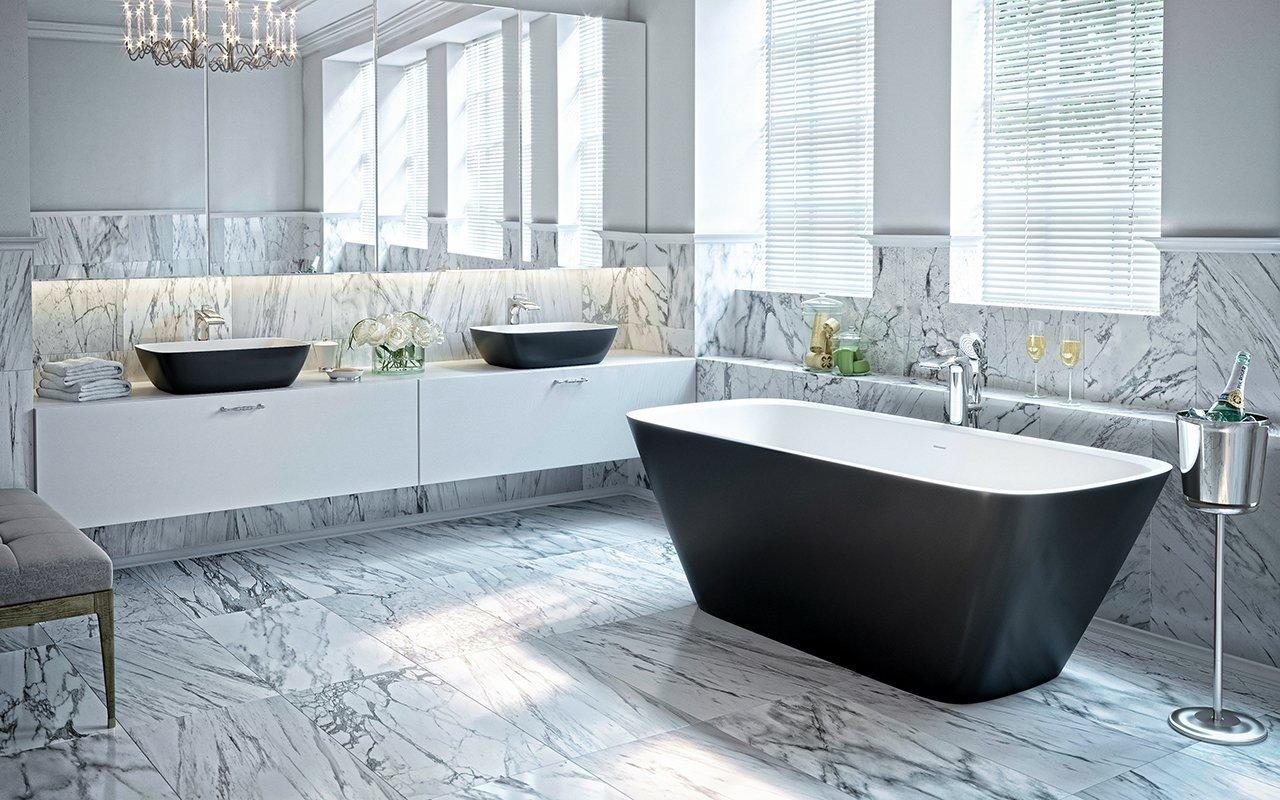 Arabella Black White Freestanding Solid Surface Bathtub by Aquatica web (1 1) (web)