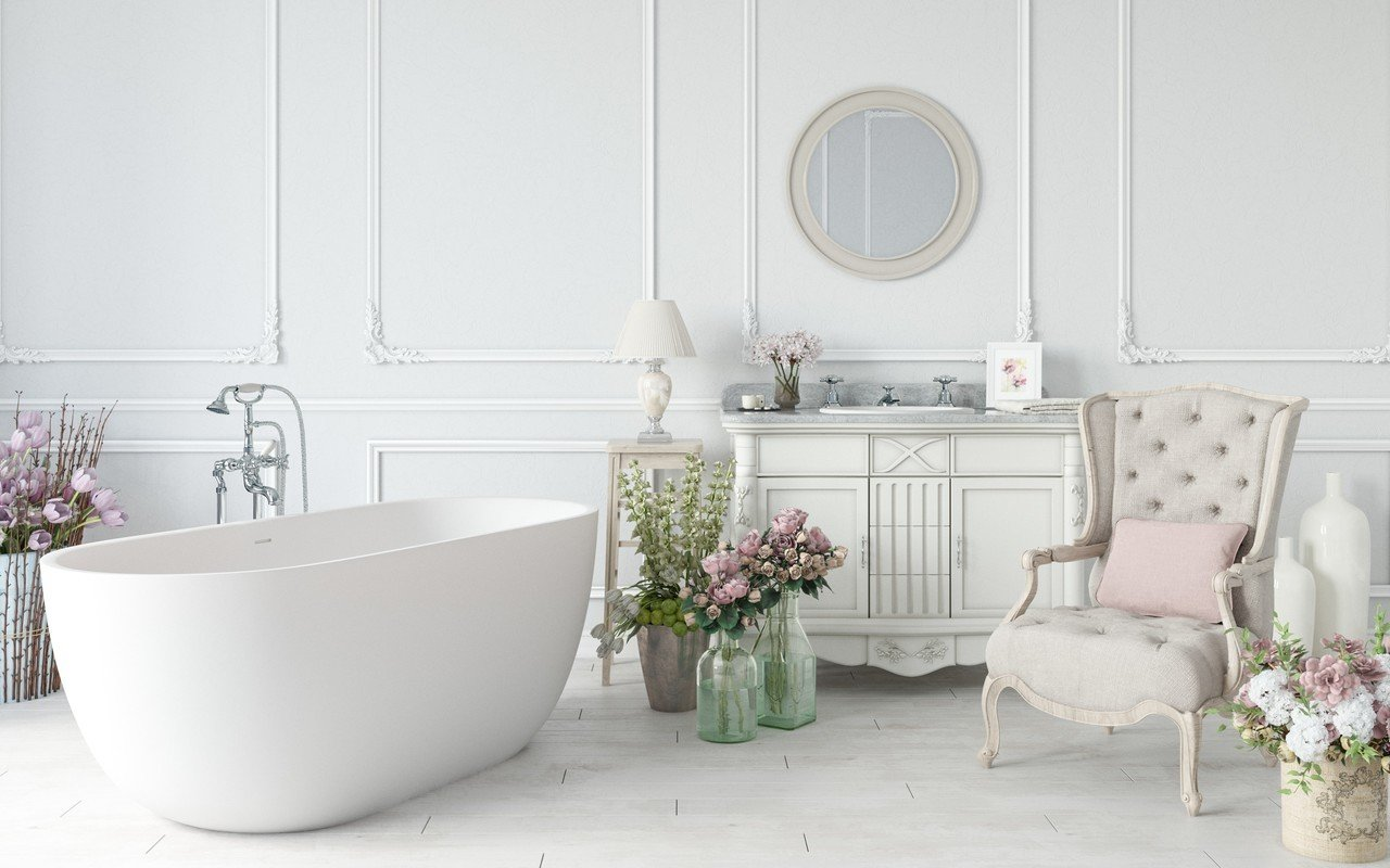 Corelia wht purescape 617bm freestanding solid surface bathtub by Aquatica 02 (web)