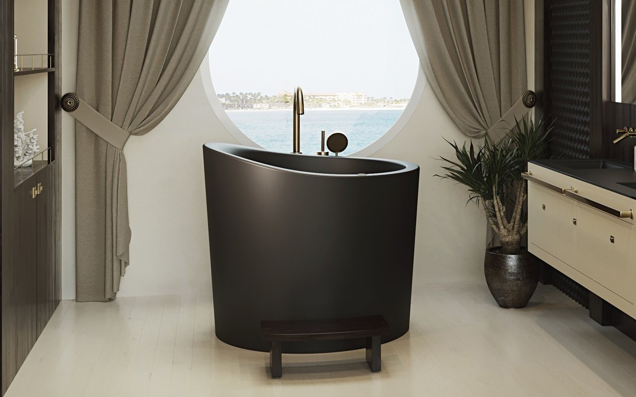 True Ofuro Mini Black Tranquility Heated Japanese Bathtub 220 240V 50 60Hz 10 (web)