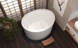True Ofuro Duo Freestanding Stone Japanese Soaking Bathtub 05 (web)