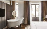 Madrid spain aquatica piccolo wht freestanding cast stone bathtub