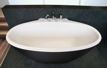 Aquatica Sensuality Mini Wall Blck Wht Back To Wall Solid Surface Bathtub 01 (web)