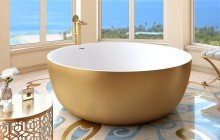 Aquatica adelina yellow gold wht round freestanding solid surface bathtub 03 (web)