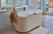 Tulip Wht Freestanding Solid Surface Bathtub web (2)