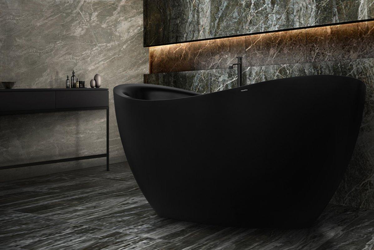 Aquatica purescape 171m blck freestanding solid surface bathtub customer photos 01 (web)